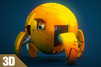 Spider Robot Animation Tutorial – by Tyson Ibele