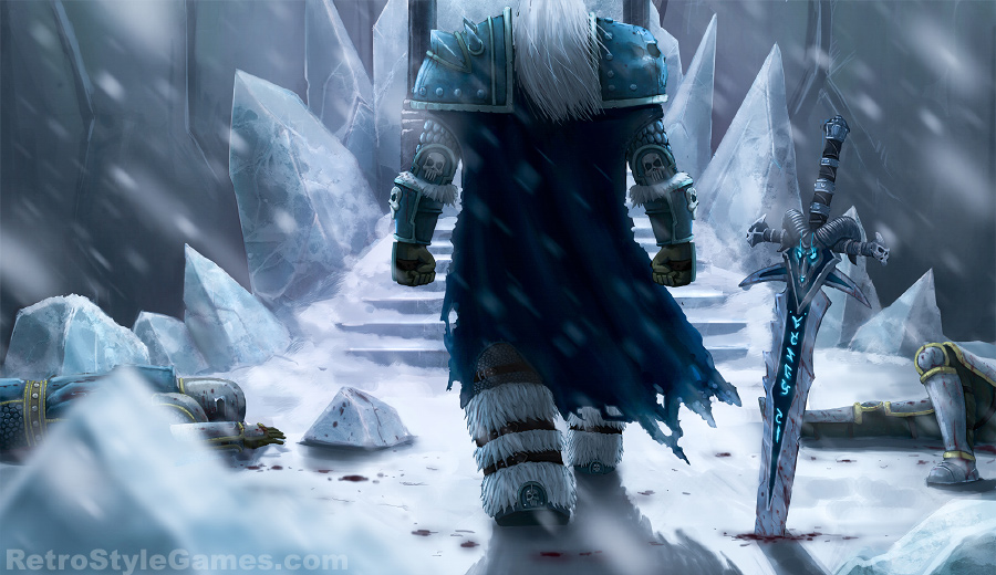 Wow Lich King Arthas preview