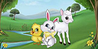 Art Production for new Easter-themed match-3 game – Spring Bonus