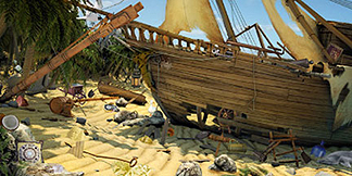 Making of: Pirate Mysteries hidden object game Art Outsourcing