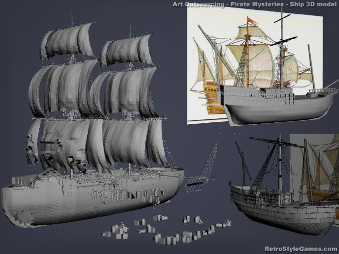 Art production service - 2D 3D modeling, animation