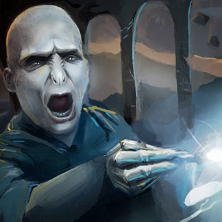 Harry Potter Fan Art – Fighting Lord Voldemort