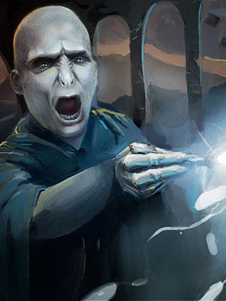 Harry Potter Fan Art – Fighting Lord Voldemort