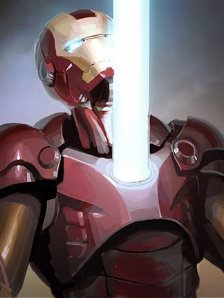 Iron Man Fan Art – Mark Suit