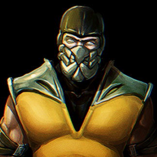 Mortal Kombat Fan Art – Scorpion