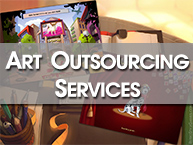 Art outsourcing services
