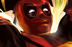 Deadpool Fan Art – Chimichanga