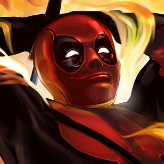 Deadpool Fan Art – Chimichanga