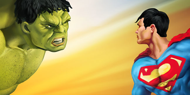 Hulk VS Superman Fan Art – The Fight