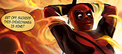 Superheroes Fan Art - Deadpool preview