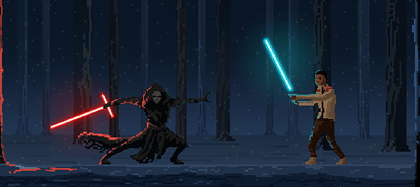 03-StarWars-Kylo-Ren-Finn-forest-fight-pixel-art-preview