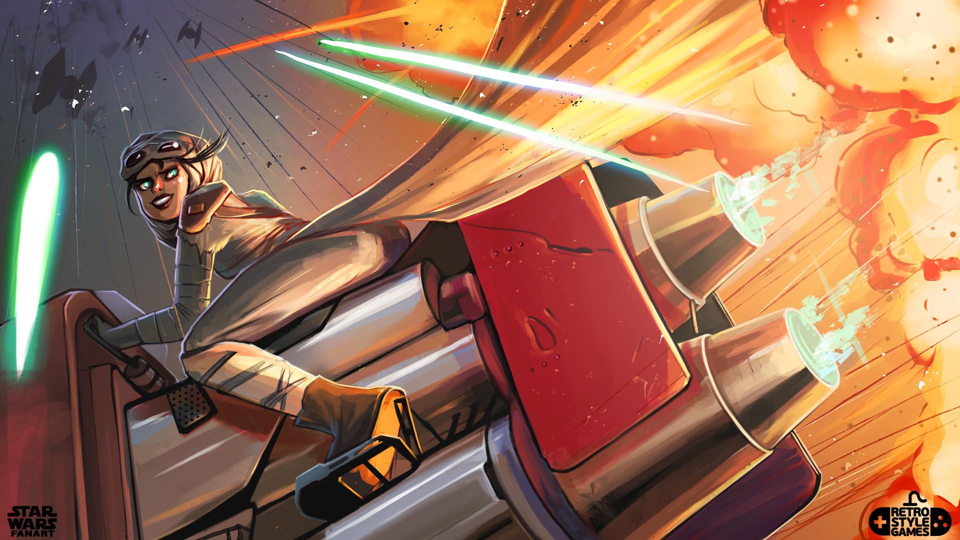 05-StarWars-Rey-character-chase-illustration