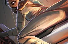 Star Wars Rey and Finn Characters – Force Awakens Fan Art