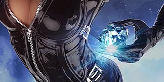 Catwoman Fan Art – Stealing the Diamond (plus Zbrush 3D model)