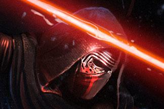 Star Wars Kylo Ren Character – Force Awakens Fan Art