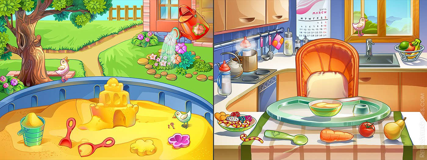 backgrounds sunstorm kid ios games sandbox kitchen closeup