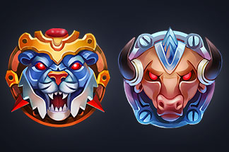 Chrono Strike – Icons for Fighting Game