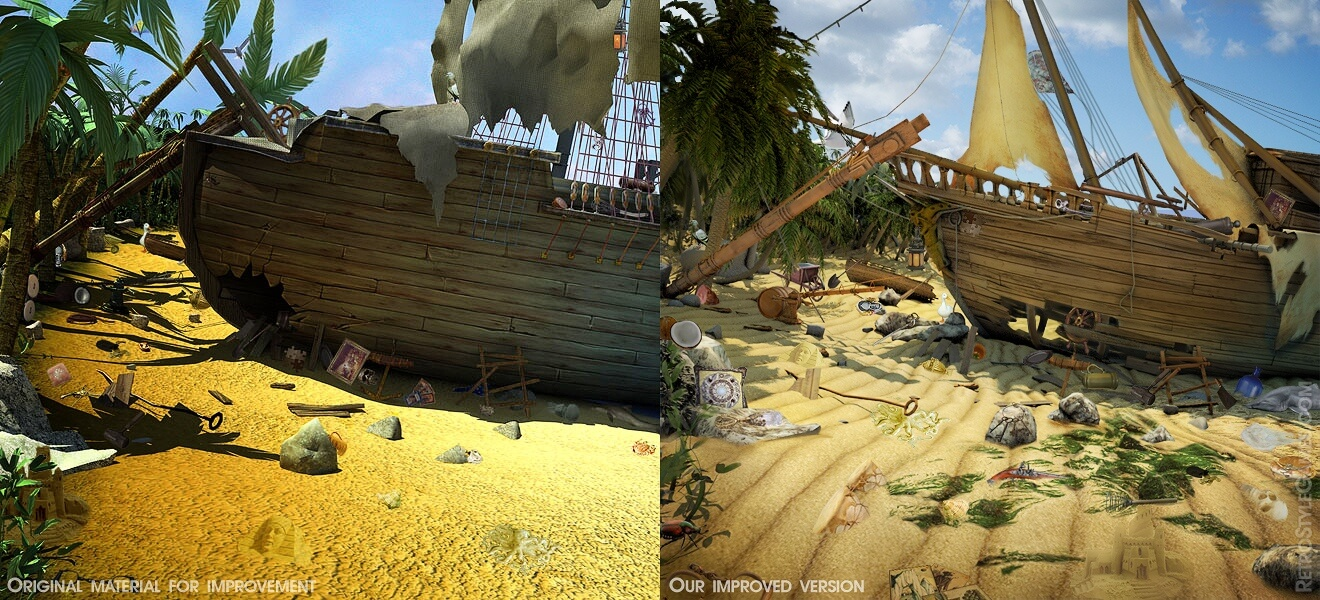 hog pre rendered wrecked ship