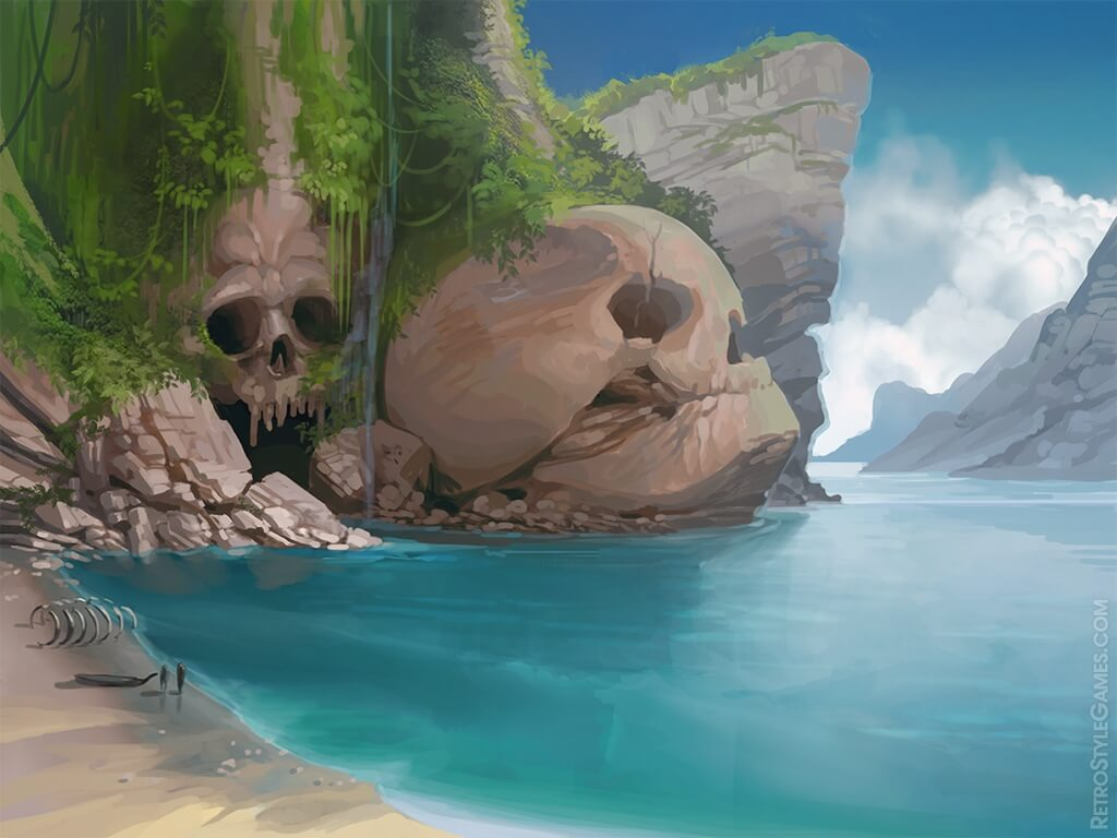 Game Backgrounds Painterly Illustrative Stages And Game