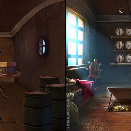 2D-PirateShip-Interior-Navigation-Room-before-after