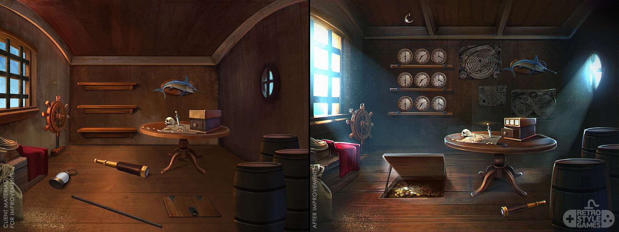 Time Library Adventure Escape Series Hog Artwork