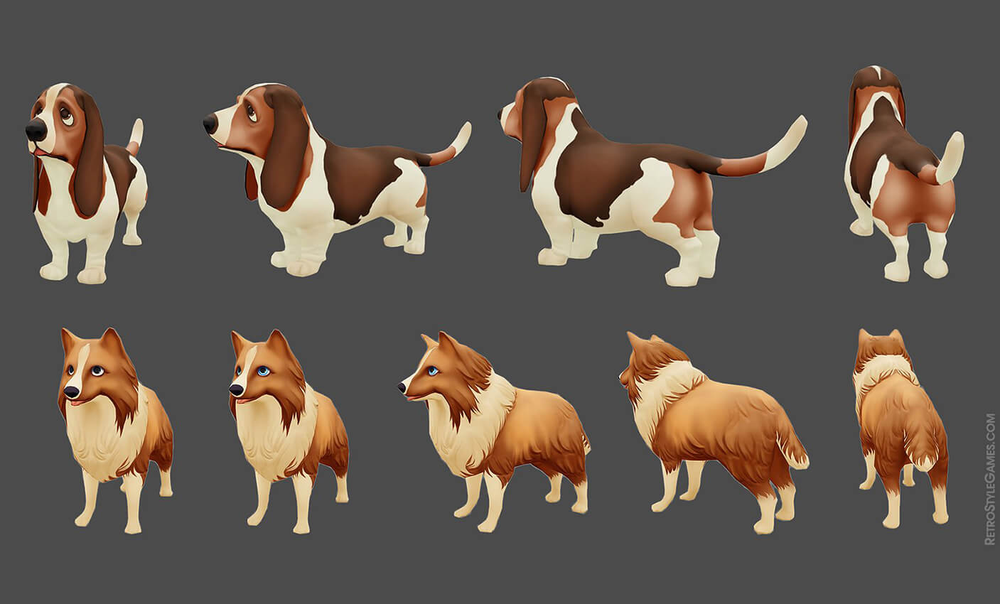 3D Game Art - Next-Gen Characters, Low Poly Modeling and CG