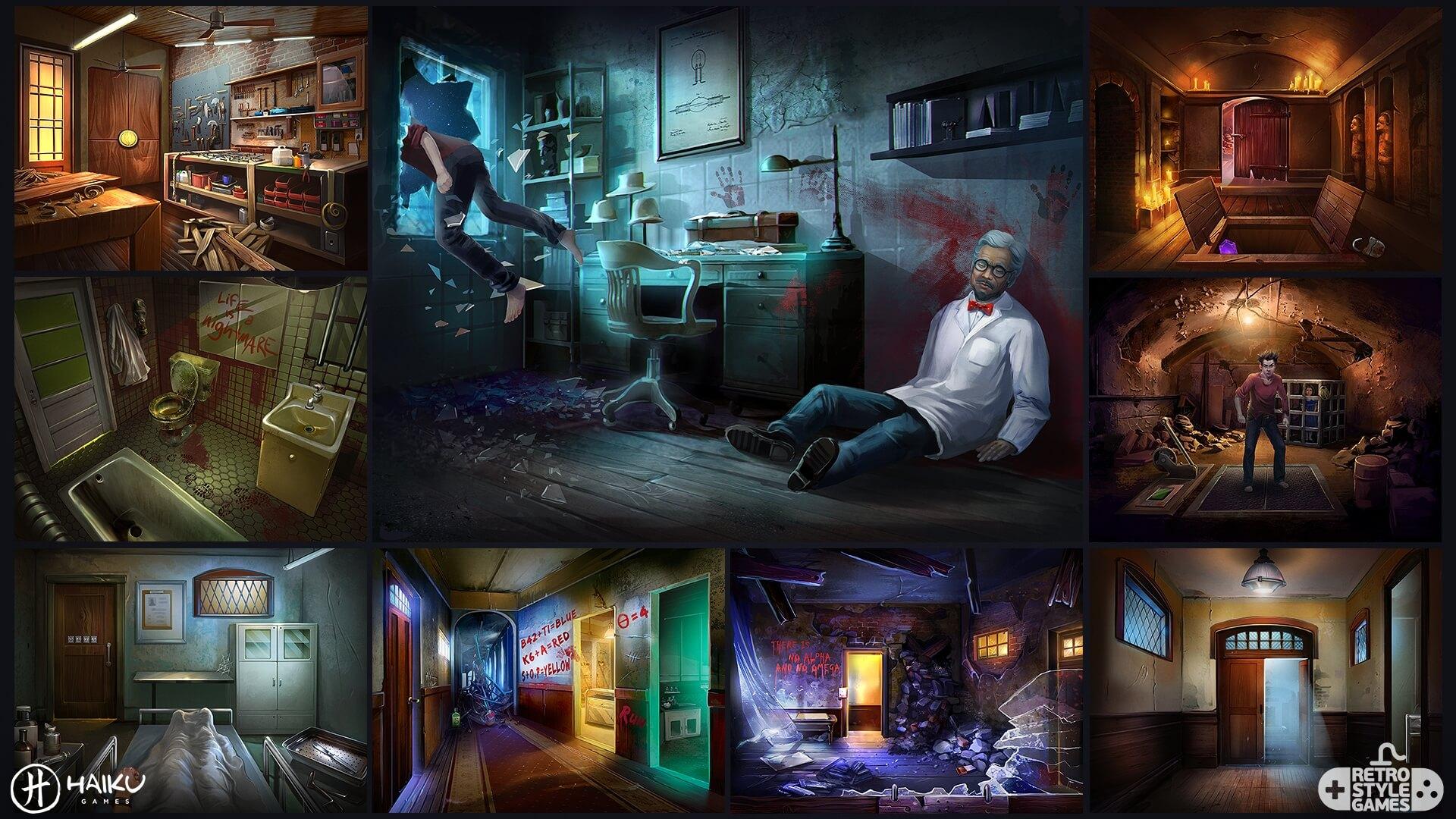 Asylum Environment full art sheet1 interiors
