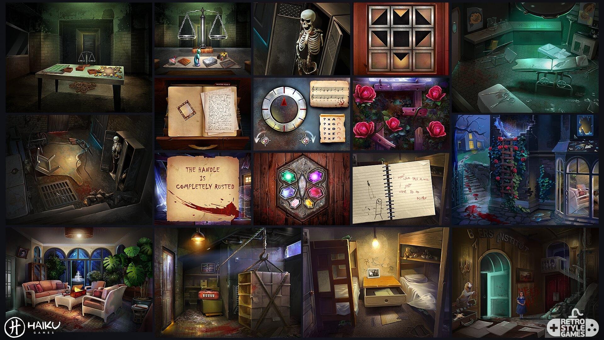 Asylum Environment full art sheet2 puzzles