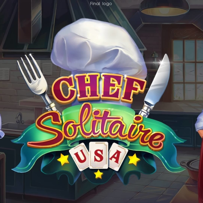 chef solitaire 2d final logo