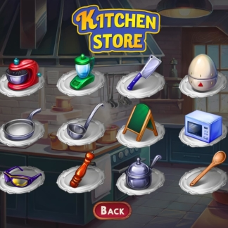 chef solitaire kitchen store inventory