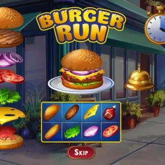 chef solitaire minigame burger run