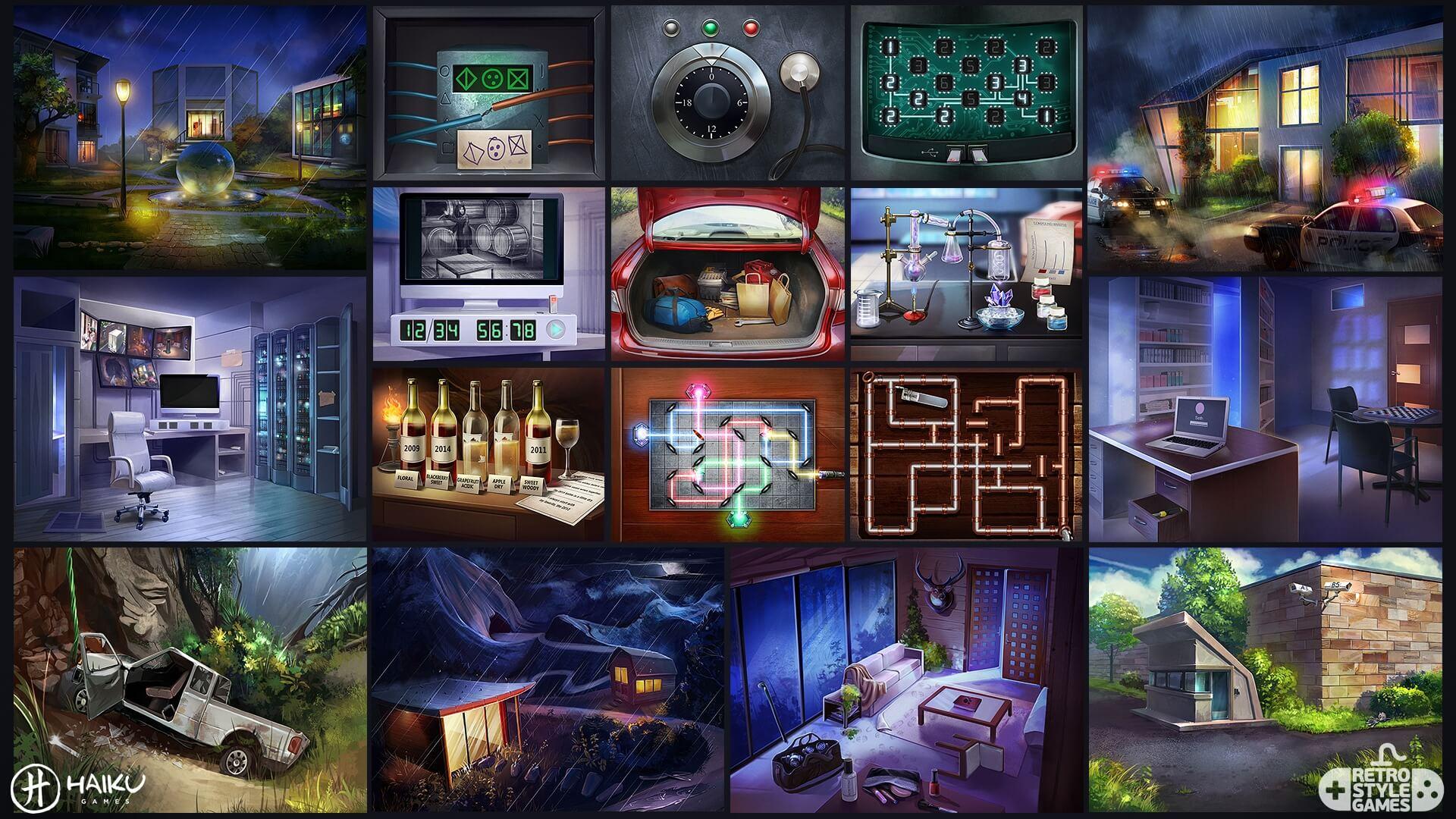 CultMystery HOG full art sheet2 puzzles