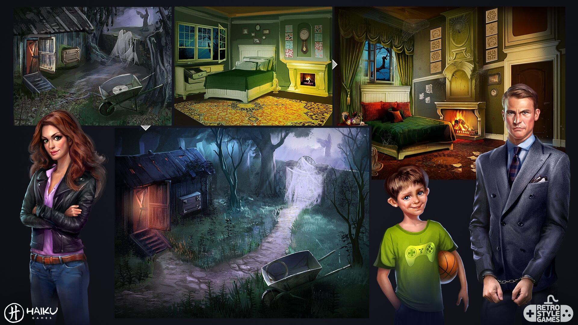 Murder Manor HEPA full art sheet3 characters
