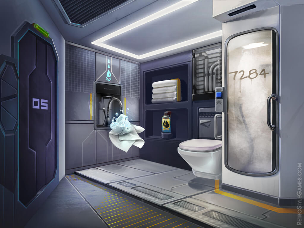Space Crisis 2d Backgrounds And Puzzles Retrostyle Games