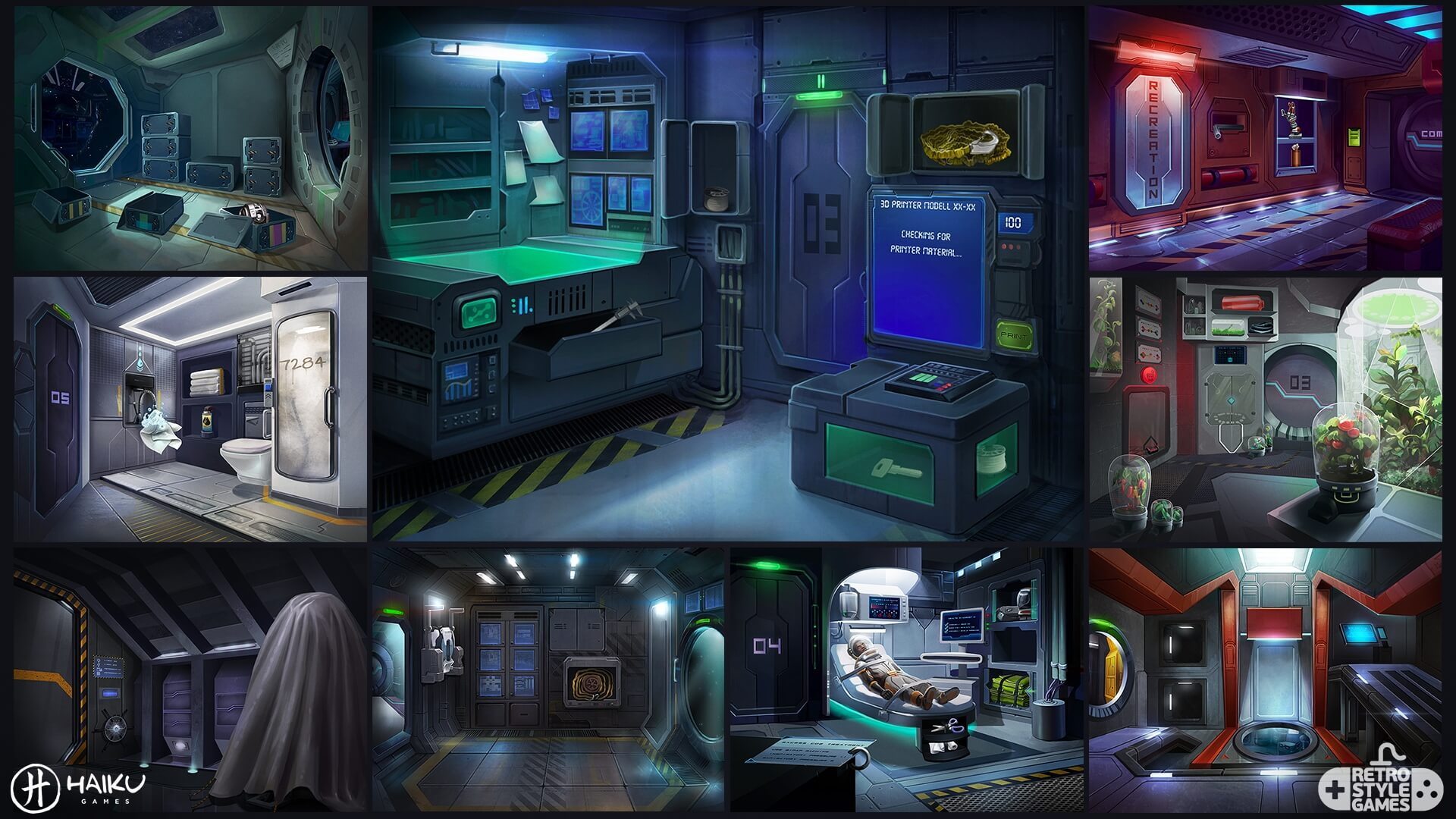 space crisis full art sheet1 backgrounds