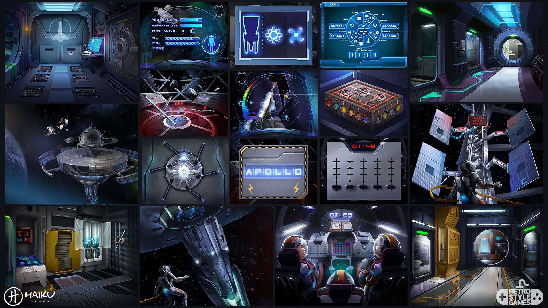 space crisis full art sheet2 puzzles