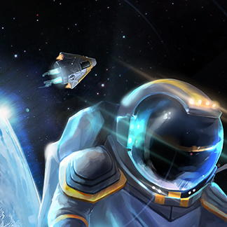 Space Crisis – 2D Backgrounds and Puzzles