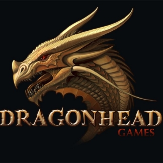 icons gragonhead games logo design