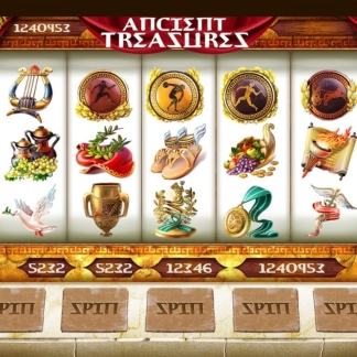 icons slots gamefactory ancient olympiad theme