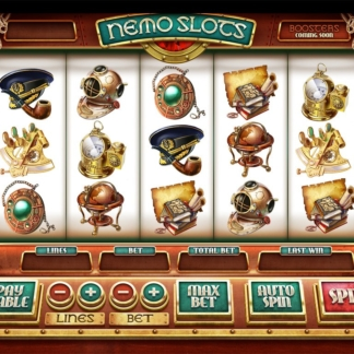 icons slots gamefactory sea nemo theme
