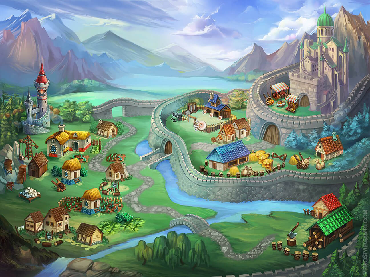 sprites avalon 2 castle mega game