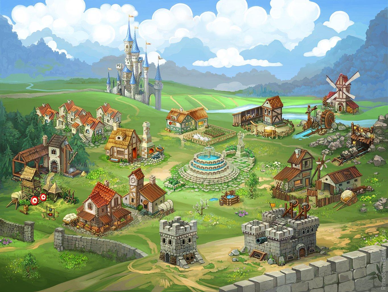 sprites heroes match3 meta game castle upgrades