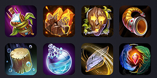 Heroes and Titans – Icons for Mobile RPG