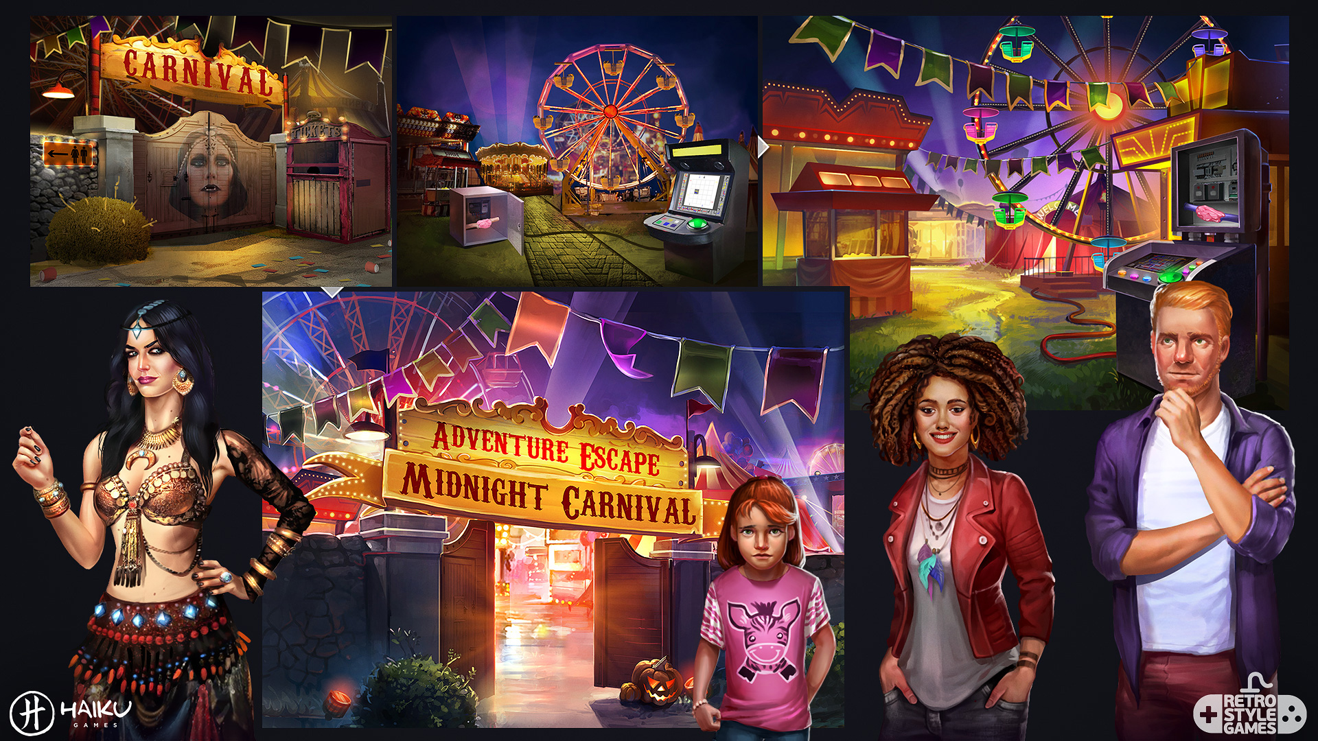 midnight 2d carnival full art sheet3 characters
