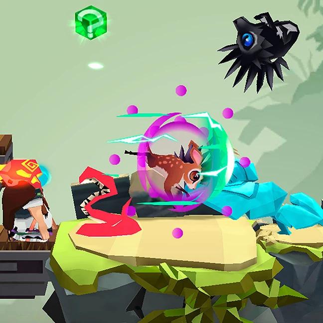 spirit run multiplayer battle screens