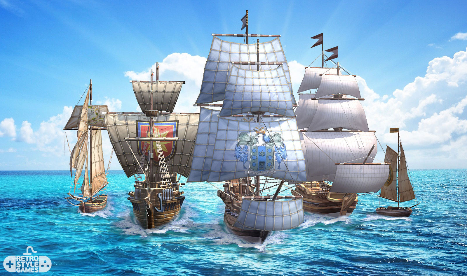 3d modeling pirates ships