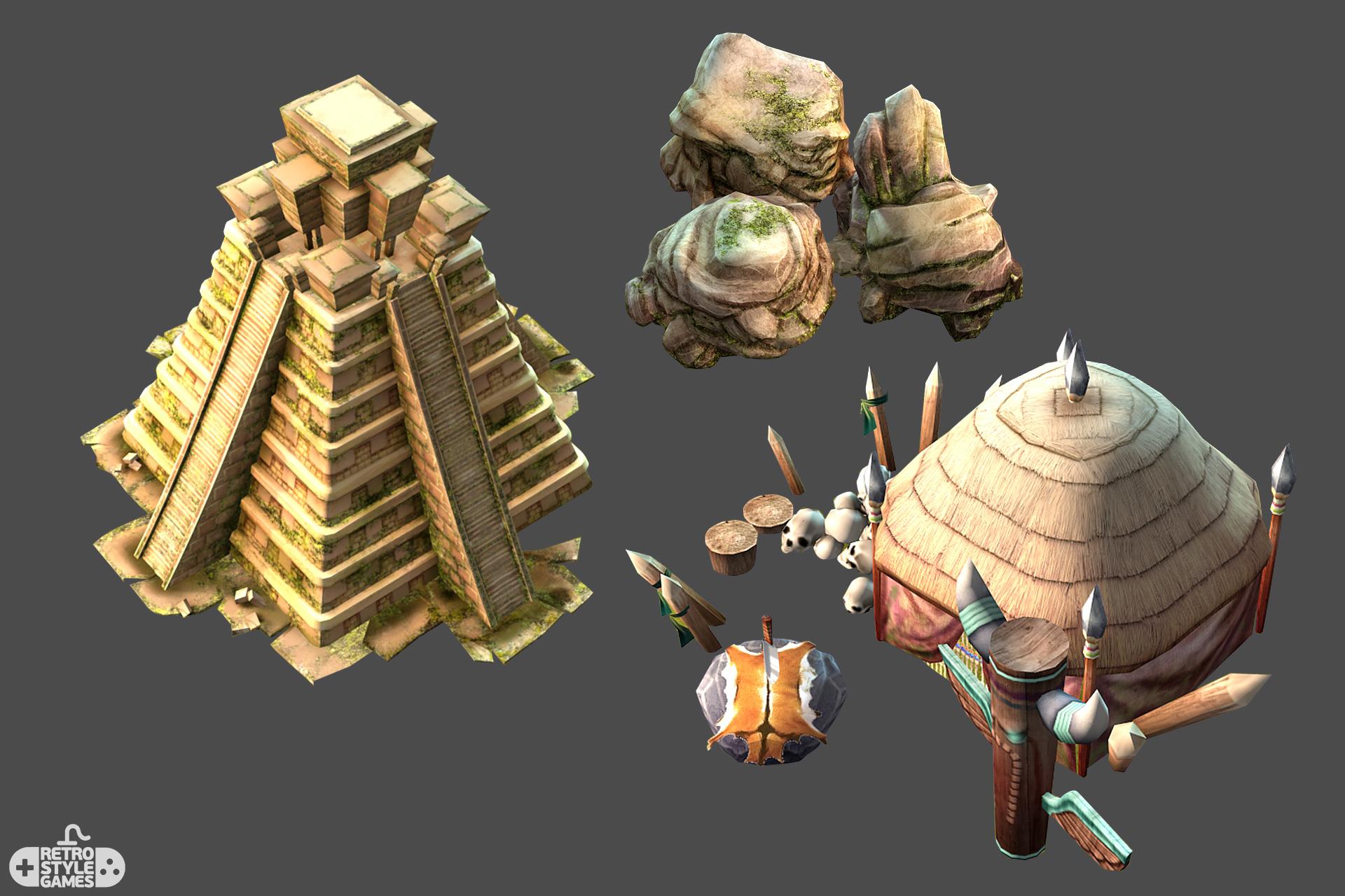 Treasure Island Pirate – Game Assets - RetroStyle Games