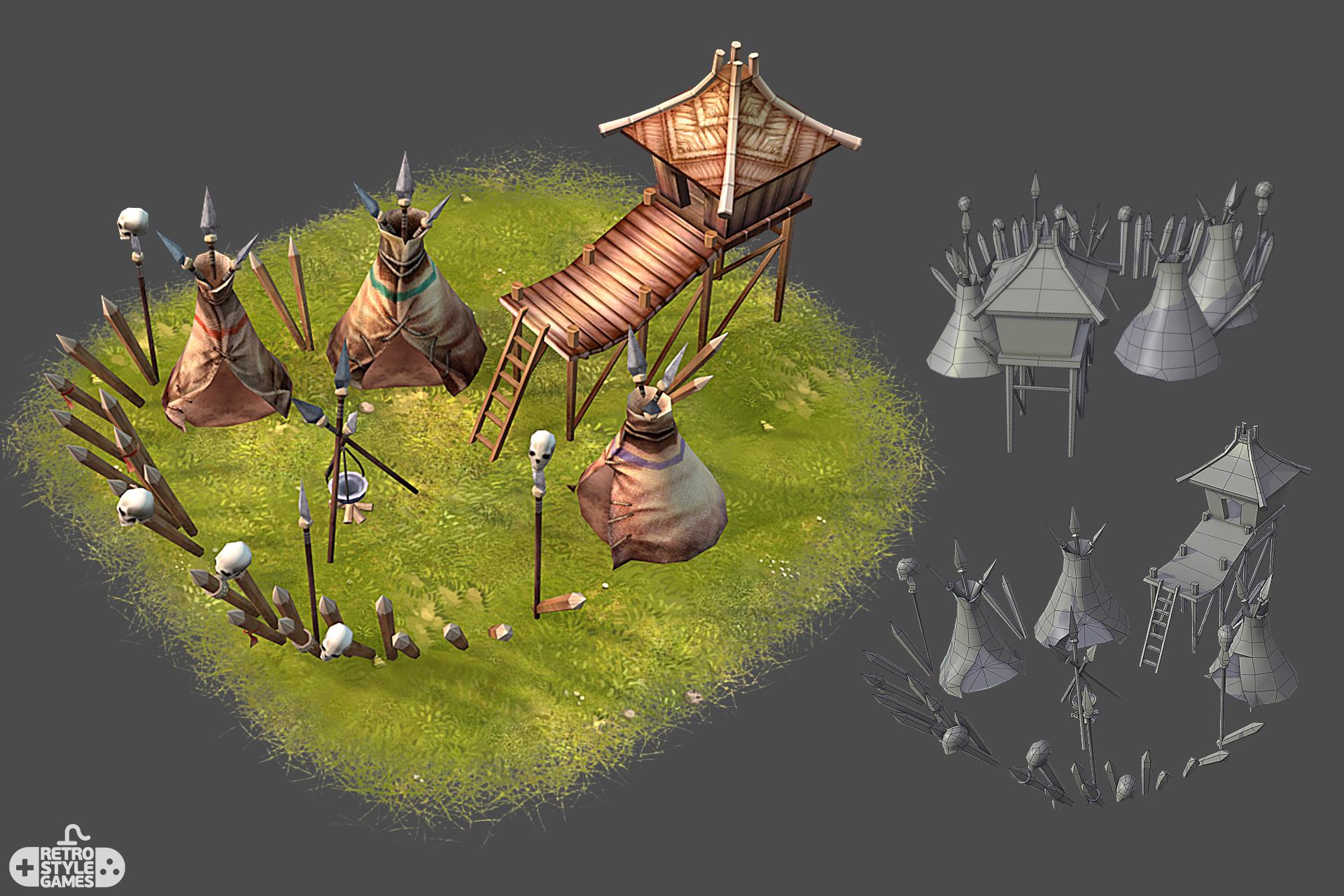 pirate island battle camp