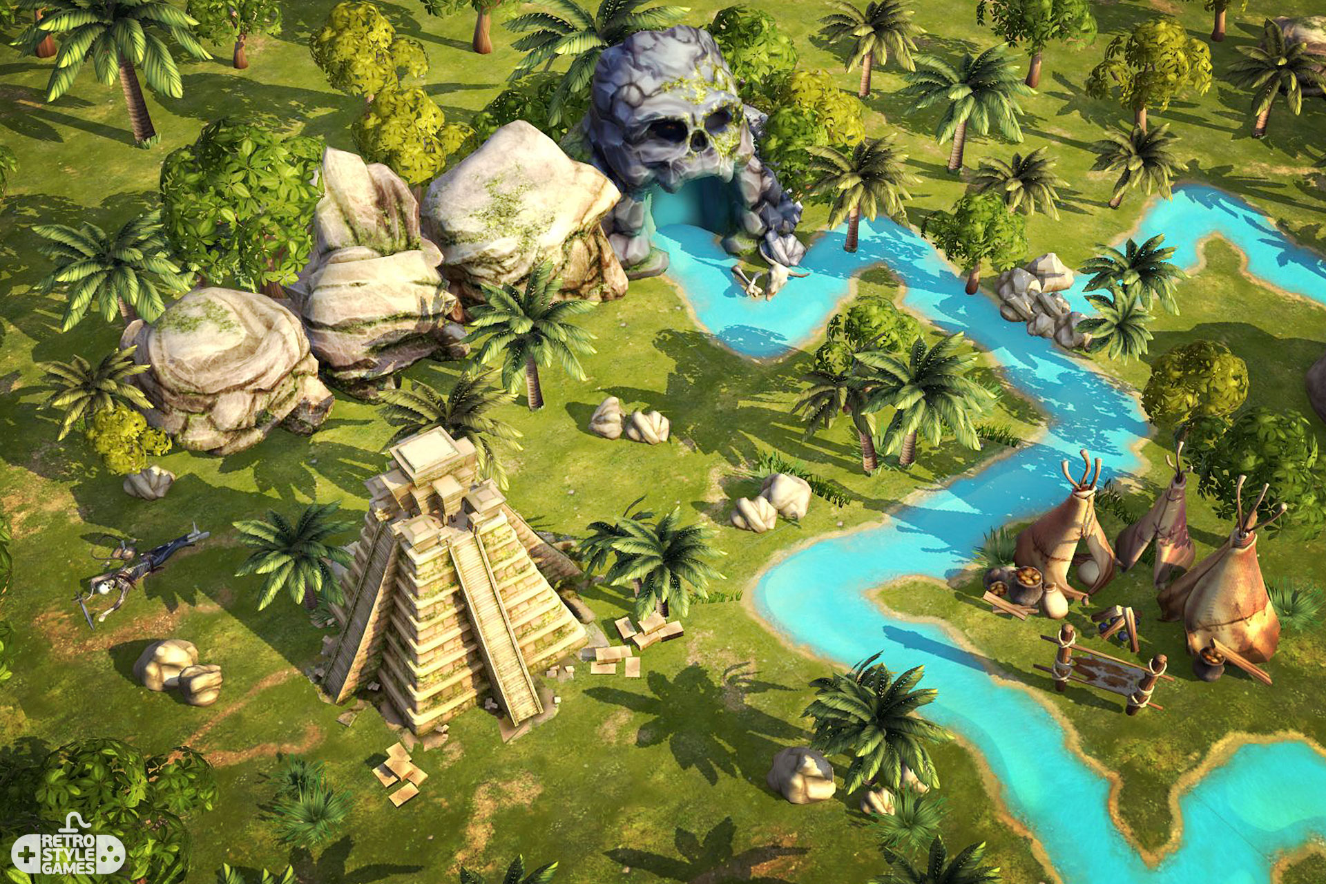 pirate island assets collection