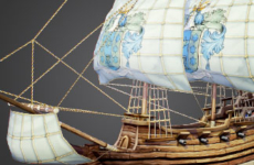 Free 3D Model of Pirate Ship – Fluyt